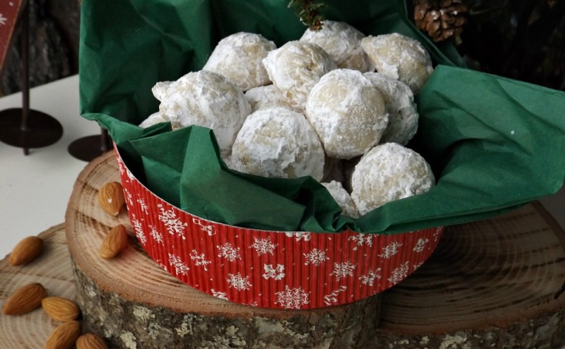 Holiday Baking Series Part 2: Almond Wedding Cookie