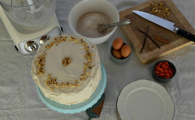 Homage to my Mother: Carrot Cake Birthdays