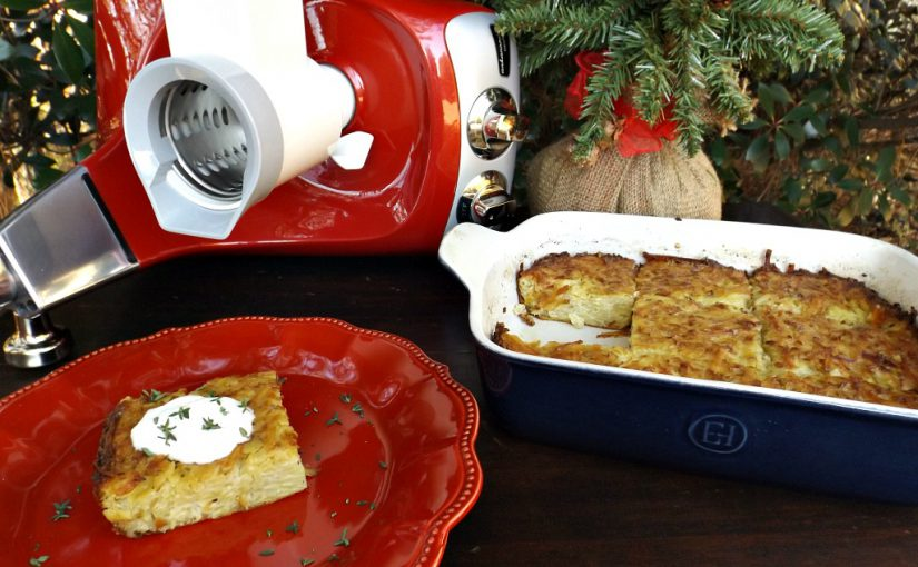 December Entertaining: Easy Potato Kugel