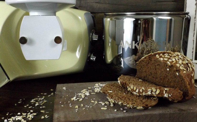 Dark Rye and Oat Bread