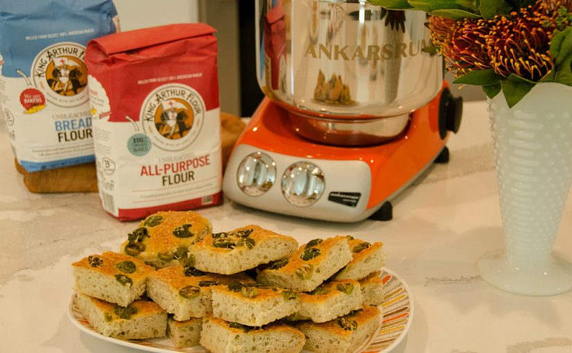 Olive and Thyme Focaccia