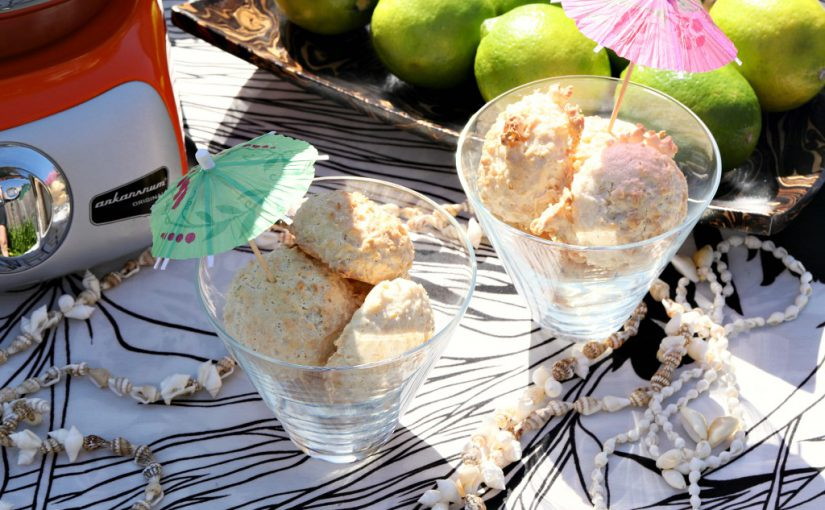 Tropical Coconut Almond Cookies