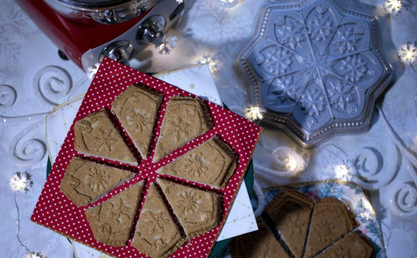 Buckwheat Chai Shortbread