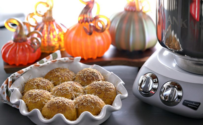 Sage and Orange Pumpkin Rolls